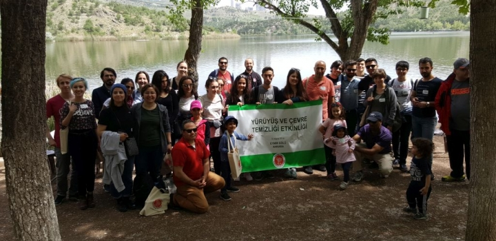 Humphrey Alumni, participated Clean-up and Hiking Event at Ankara's Eymir Lake organized by YES Alumni and U.S Embassy on May 05, 2018.