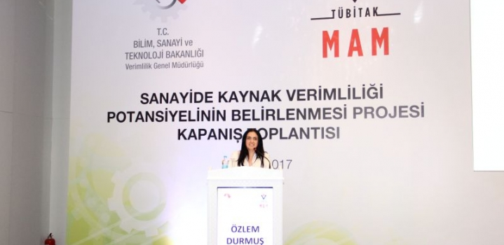 "Project Coordinated by Humphrey Alumni Özlem Durmuş: ""Potential Benefits of Resource Efficiency in Turkish Manufacturing Industry"" has been finalized"